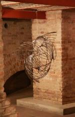 Peixe - barras de aço soldadas, Foto: Wagner Inocêncio Cardoso