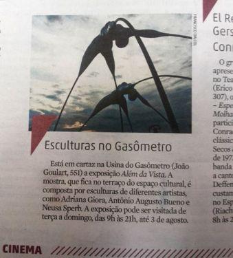 Jornal Zero Hora 8/07/14 foto Francisco Dalcol