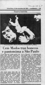 Jornal Folha de São Paulo - 15/11/1983