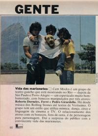 Revista Manchete- 4/02/1984