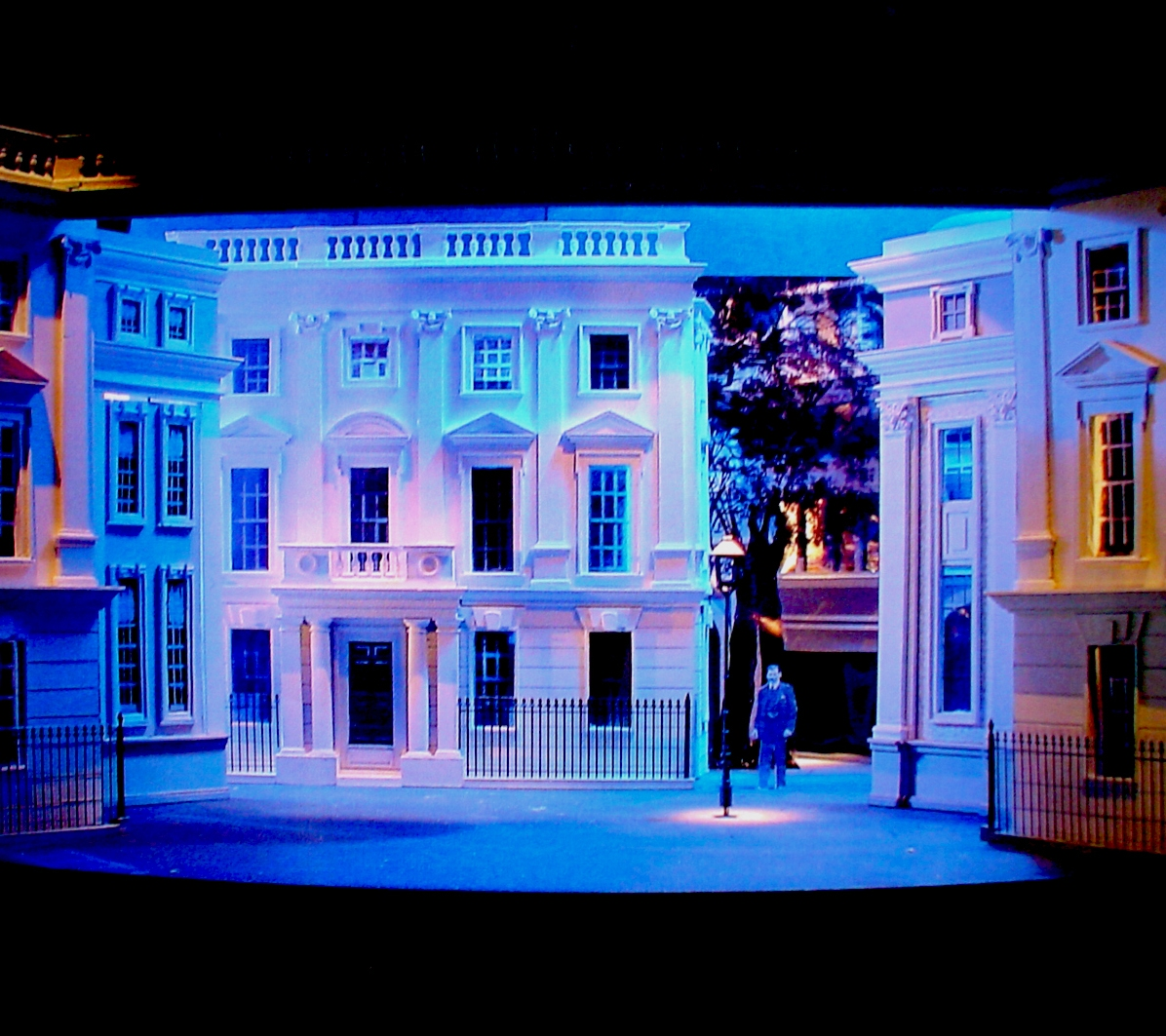 Maquete do cenário - My Fair Lady