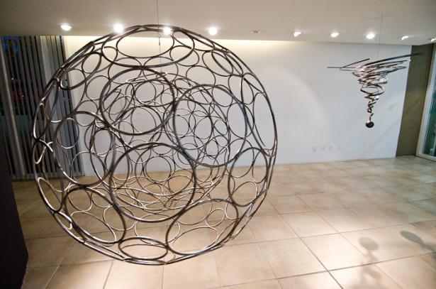 Esferas. foto Henrique Wallau