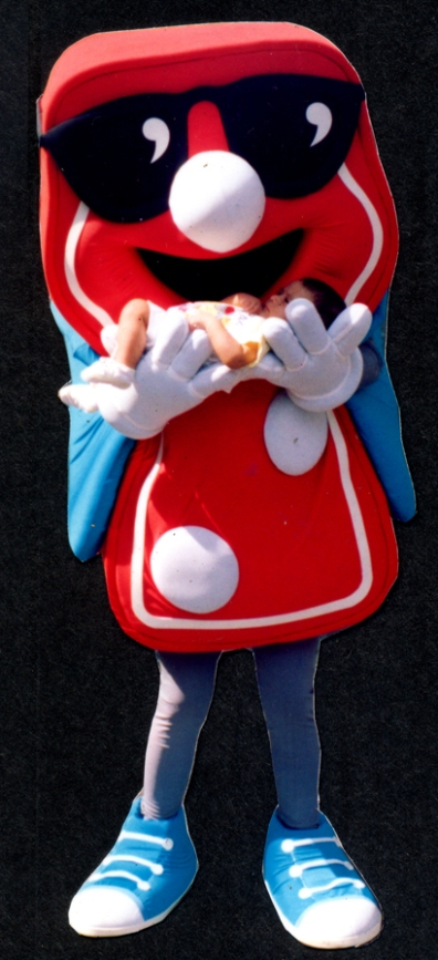 Fantasia promocional para Domino Pizza