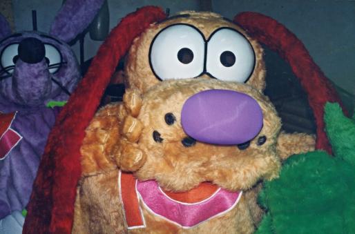 Fantasias dos personagens do Parque Playland - 1997