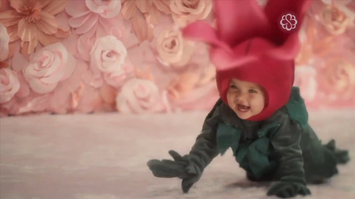 Fantasias de flores para comercial Bourbon Shopping - dia das Mães 2013 - Tulipa