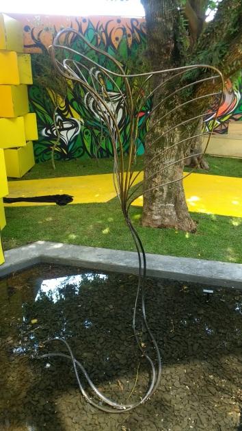 """Escultura """"Folha"""" - 2017"""