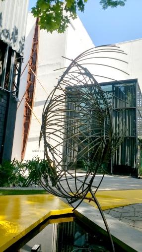 """Escultura """"Traços de Aço"""" 2017"""