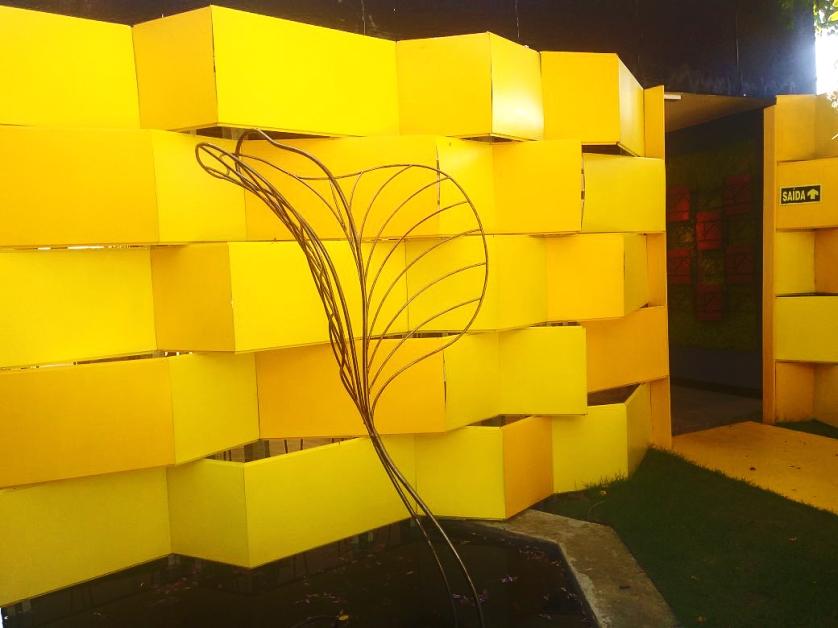 """Escultura """"Folha"""" – 2017"""
